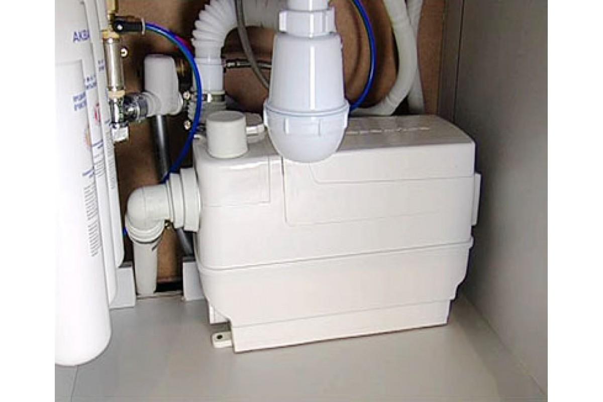 Санитарный насос Grundfos Sololift2 c 3