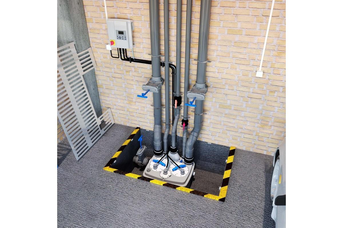 Канализационная насосная станция Sanicubic 2 PRO NM